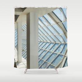 glazing Shower Curtain