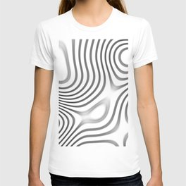 Organic Abstract 01 WHITE T-shirt