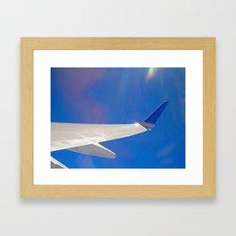 Wild Blue Yonder Framed Art Print
