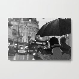Oxford Street, London Metal Print
