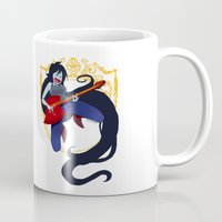marceline Mugs featuring Marceline by Roe Mesquita