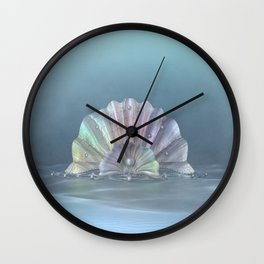 Mermaid Tiara 2 Wall Clock