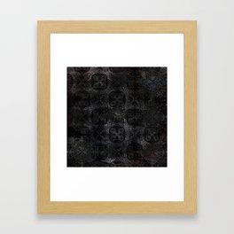 An Iron Heart Framed Art Print