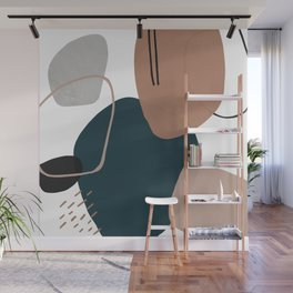 Stone's Throw Wall Mural