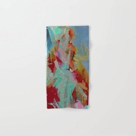 La Mujer y el Fuego Hand & Bath Towel