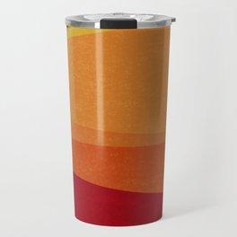 Stripe X Orange Peel Travel Mug