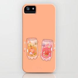 Clear Soda iPhone Case