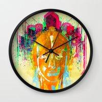 metropolis Wall Clocks featuring METROPOLIS by DIVIDUS