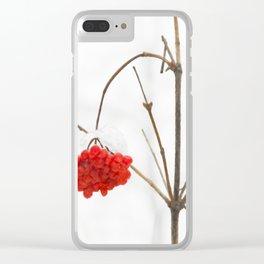 The Winter Rowan Clear iPhone Case