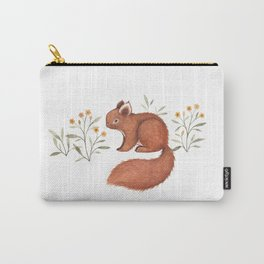Furry Squirrel Carry-All Pouch