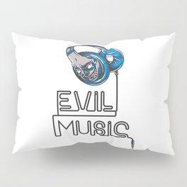 Evil Music Pillow Sham