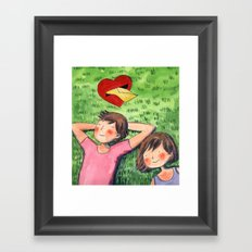 The Love Letter Framed Art Print