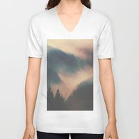 the hobbit V-neck T-shirts featuring the hobbit  by courtjones_