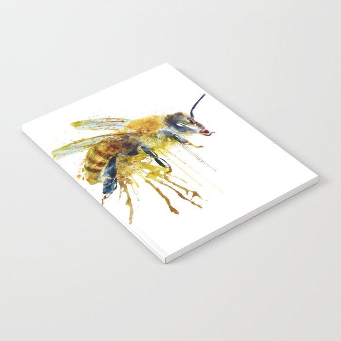 Watercolor Bee Notebook