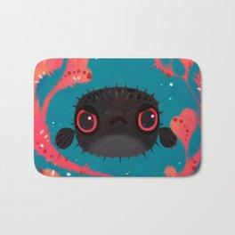 Angry puffer Bath Mat