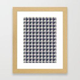 Geometric Pattern #004 Framed Art Print