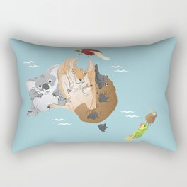Beastly Oceania Rectangular Pillow