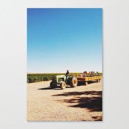 hayrack Canvas Print