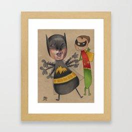 THE BAT CAN'T FLY Framed Art Print