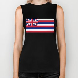 Hawaiian Flag, Official color & scale Biker Tank