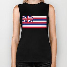 Hawaiian Flag, Official color & scale Biker Tank