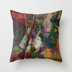 Chinese wall Throw Pillow