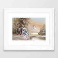thegnarledbranch Framed Art Prints featuring Being Followed by TheGnarledBranch