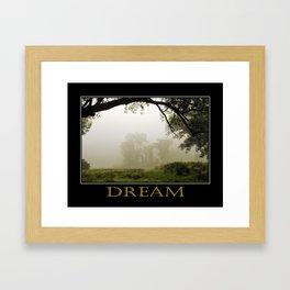 Inspiring Dreams Framed Art Print