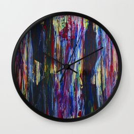 A FACE IN THE CROWD Wall Clock