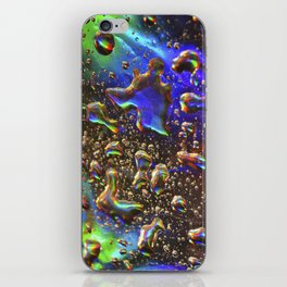 hologram rain iPhone Skin