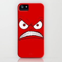 Emotional Angry Monday - by Rui Guerreiro iPhone Case