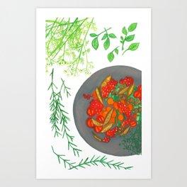Simple Taste Art Print