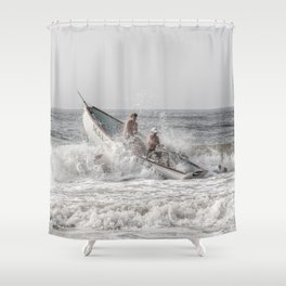 Lifeboat Margate Shower Curtain