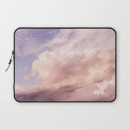Perfect Pink Summer Sky Nature Photography Laptop Sleeve
