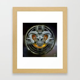 """""""Astrological Mechanism - Aries"""" Framed Art Print"""