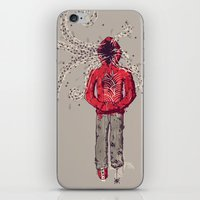inner demons iPhone & iPod Skins featuring Inner Demons by Hector Mansilla