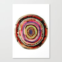 portal Canvas Prints featuring Portal  by Emily Kenney