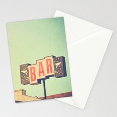 Bar. Los Angeles photograph Stationery Cards