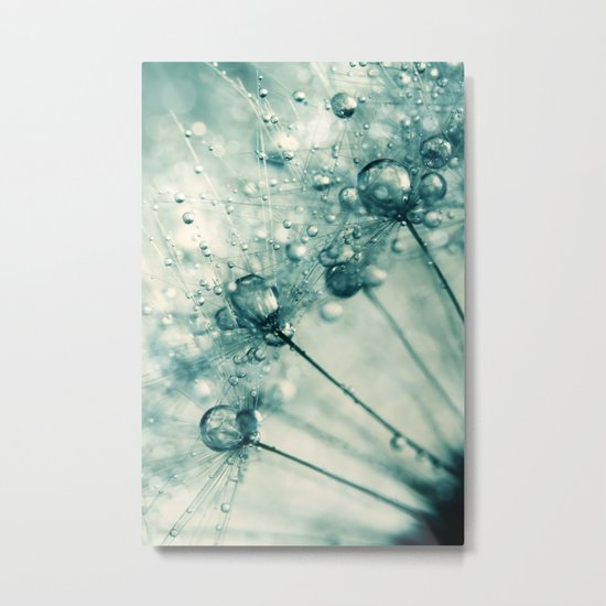 Crazy Dandy Sparkles Metal Print