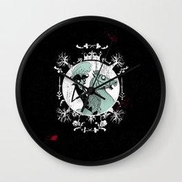 Count Dracula Wall Clock