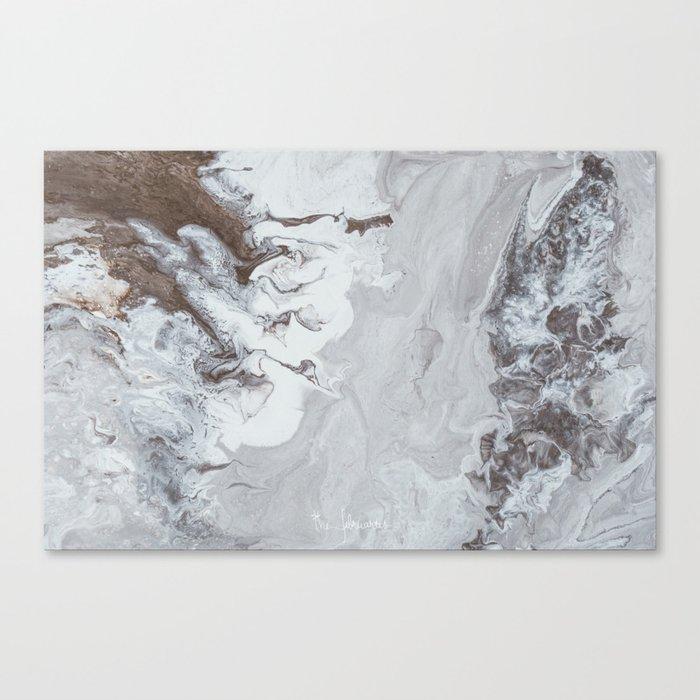 Winter Copper Canvas Print