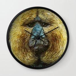 Animaline - Saki monkey Wall Clock