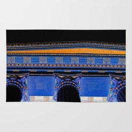 Philadelphia Museum Acropolis / Black Rug
