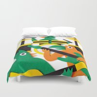 band Duvet Covers featuring The Band by Jacopo Rosati