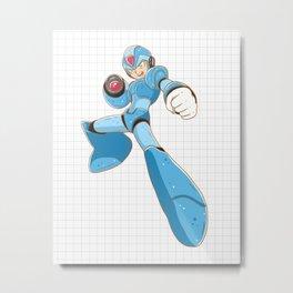 Mega-Man Metal Print