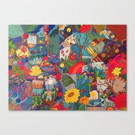 Rompecabezas Canvas Print