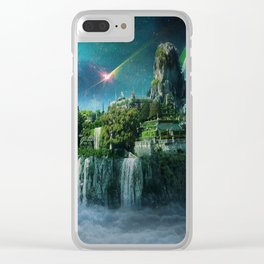 Island of Nowhere Clear iPhone Case
