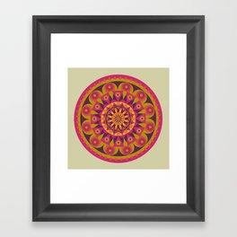AFE Mandala Design Framed Art Print