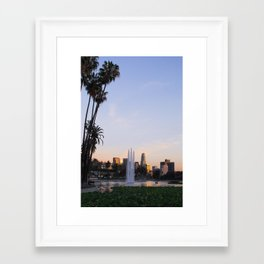 Greetings From Echo Park, Los Angeles II Framed Art Print