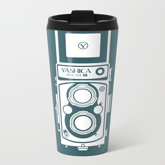 Yashica MAT 124G Camera Metal Travel Mug